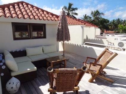 Roof deck comfort