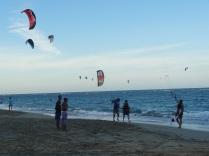 David at his kite boarding lesson