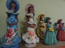 Dominican clay ladies ( I bought 2)