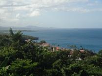 Mount Isabel de Torres in the distance