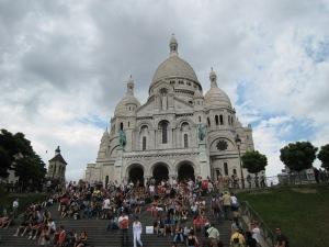 Sacré-Cœur Basilica in Montmartre