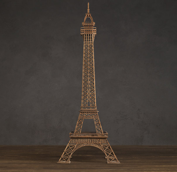 Eiffel Tower from Restoration Hardware