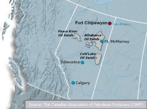 Alberta-Fort-Chipewyan-Map