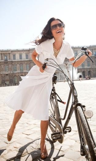bike ride happiness