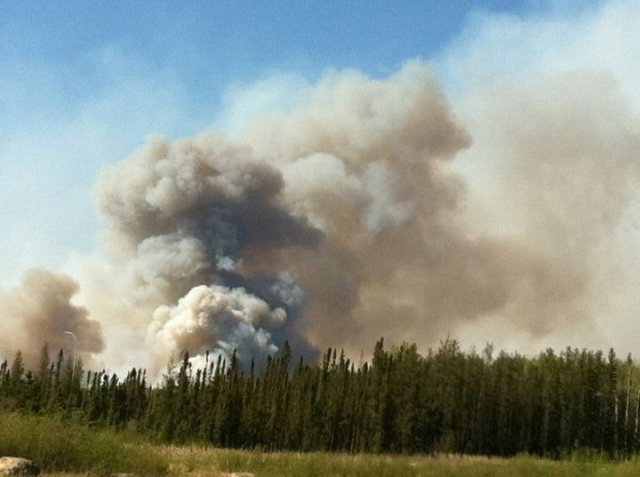 Forest fire May 20, 2011