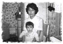 Mom & baby me