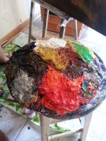 artist palatte blob
