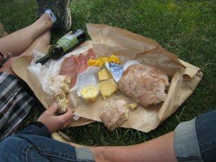 a simple picnic