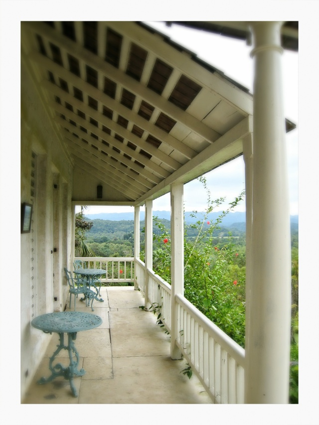 The same verandah as seen in the Anthropologie catalogue :-)